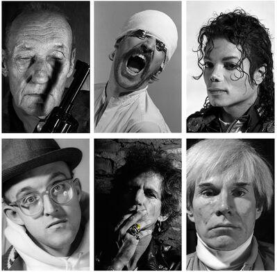 Gottfried Helnwein, 'Faces - Portfolio of 6 Faces', 2020