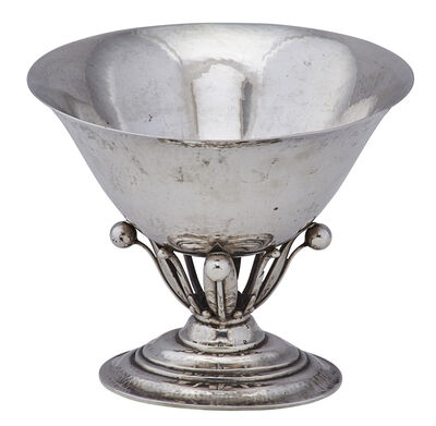Georg Jensen, 'Georg Jensen Sterling Silver Footed Bowl', 1925-32