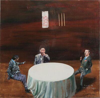 Konstantin Bessmertny, 'E. meets W. Los Tres Amigos', 2014