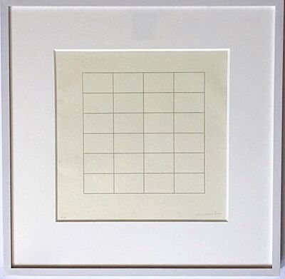 Agnes Martin, 'On a Clear Day #18 ', 1973
