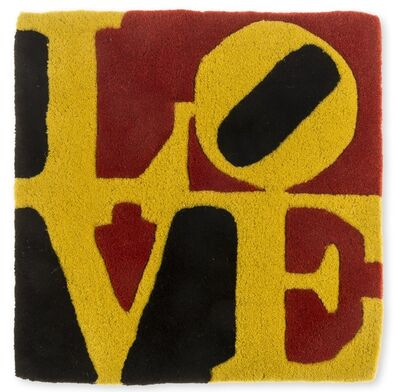 After Robert Indiana, 'Love Rug'