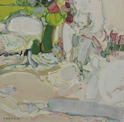 Gabriel Godard, 'Personnage dans un jardin', 1966