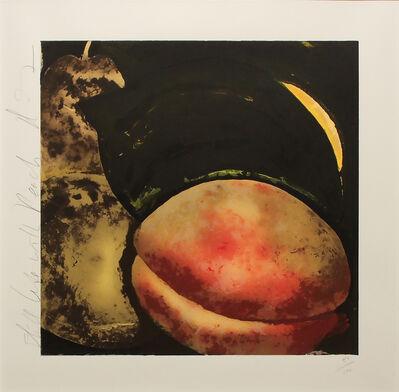 Donald Sultan, 'STILL LIFE WITH PEACH', 1987