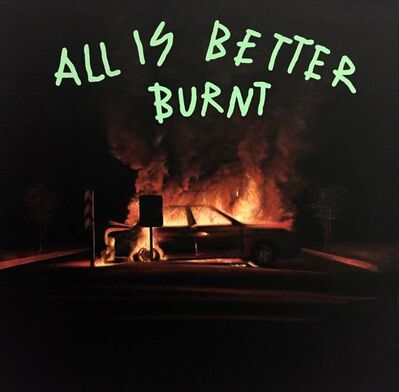 "Alejandro Monge, '""BLACK SERIES: ALL IS BETTER BURNT""', 2019"