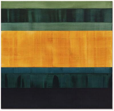 Ricardo Mazal, 'Composition in Greens 2', 2014