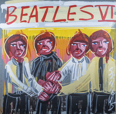 Steve Keene, 'Beatles - IV', 2015