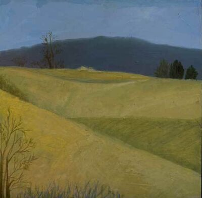 Ellen Sinel, 'Country Series: Yellow Fields', 2002