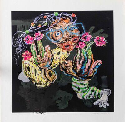 Cristiano Mangovo, 'Dedos Flores', 2018