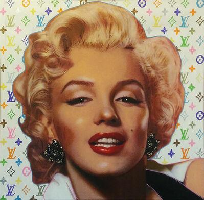 Steve Kaufman, 'Pop Marilyn - Louis Vuitton Style - White', 2001-2007