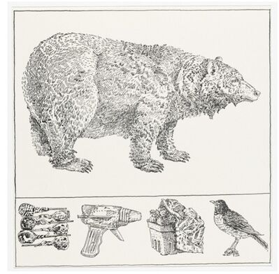 Don Nice, 'Bear with Predella ', 1977