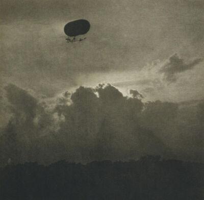Alfred Stieglitz, 'A Dirigible', 1911