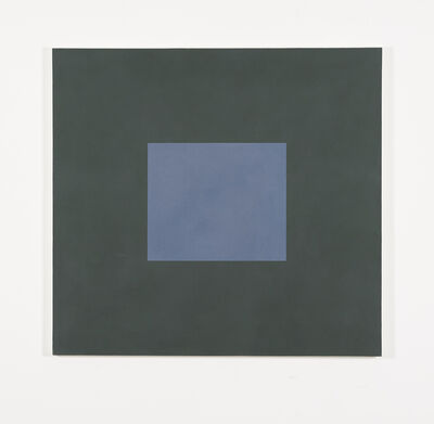 Peter Joseph, 'Blue with Dark Green', 1987