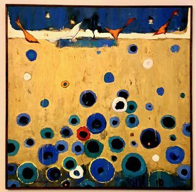 Ammar Alnahhas, 'Birds on a gold field', 2020