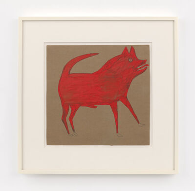 Bill Traylor, 'Red Dog', 1939-1942