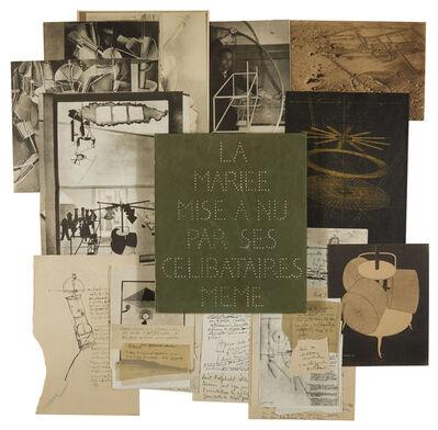 Marcel Duchamp, 'La Mariée mise à nu par ses Célibataires même (Boîte verte)', 1911-1915