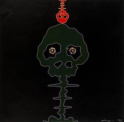 Takashi Murakami, 'Time Bokan (Black & Moss Green)', 2001