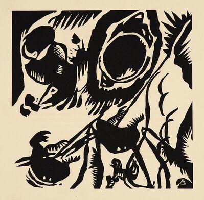Wassily Kandinsky, 'Motiv Aus Improvisation 25', 1911