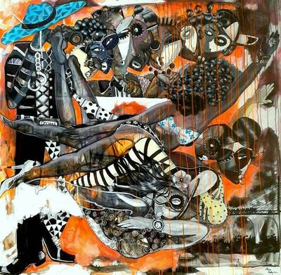 Aza Mansongi, 'Dualite', 2017