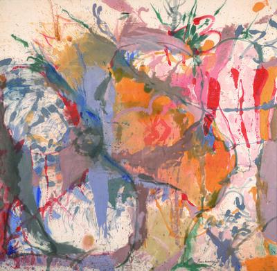 Helen Frankenthaler, 'Before the Caves', 1958
