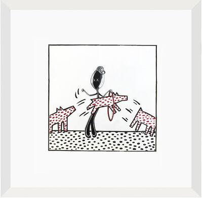 Simone D'Auria, 'Mr. Spoon Circus (omaggio a Keith Haring)', 2020