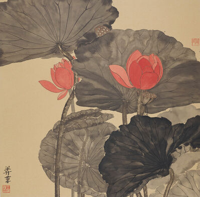 Wang Mansheng 王满晟, 'Jiangnan Lotus 江南可採蓮', 2013