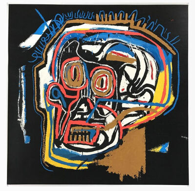 Jean-Michel Basquiat, 'Head', 1982 -2001