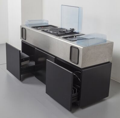 Adalberto Dal Lago, 'A stereo-bar unit on wheels manufactured by ROSSI DI ALBIZZATE', 1974