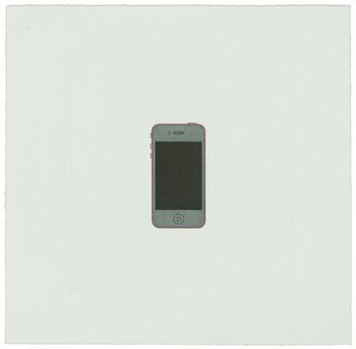 Michael Craig-Martin, 'The Catalan Suite II - iPhone', 2013