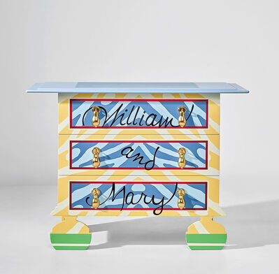Robert Venturi, 'William and Mary bureau, designed for the XVII International Triennale, Milan', circa 1984