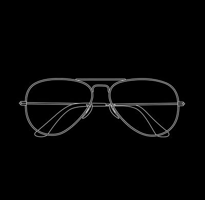 Michael Craig-Martin, 'Glasses', 2017
