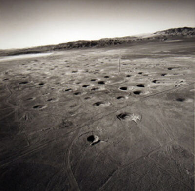 Emmet Gowin, 'Subsidence Craters on Yucca Flat, Nevada Test Site', 1997
