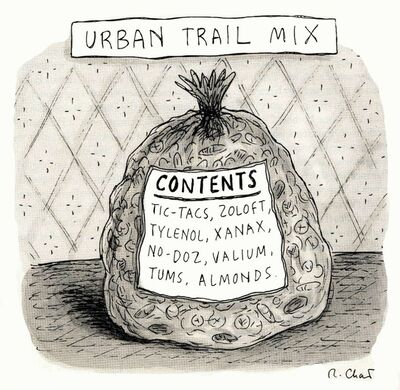 Roz Chast, 'Urban Trail Mix', 2010