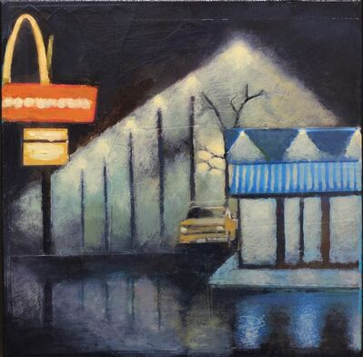 John Santucci, 'The Lonely Diner', 2018