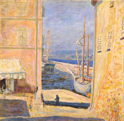 Pierre Bonnard, 'View of the Old Port, Saint-Tropez'