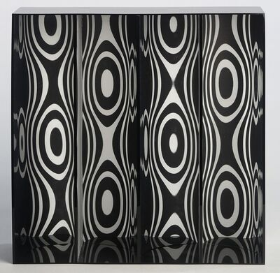 Julio Le Parc, 'Ondes par Déplacement du Spectateur', 1965-2013