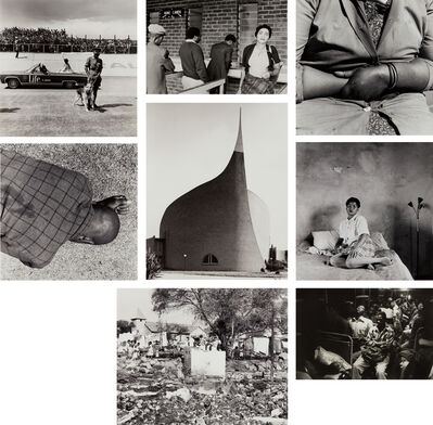 David Goldblatt, 'Selected images of South Africa', 1972-1986