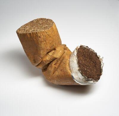 "Jesús 'Bubu' Negrón, 'Cigarette Butt (from the series: ""abra a las colillas"")', 2019"