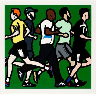Julian Opie, 'Running Men', 2016