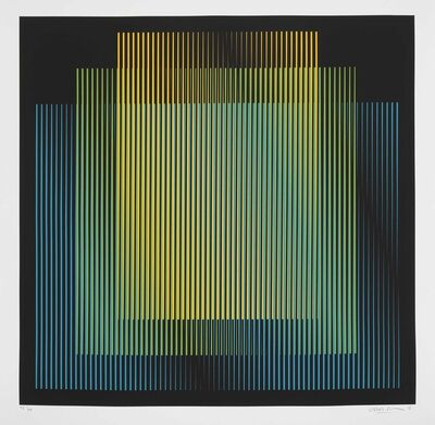 Carlos Cruz-Diez, 'Germania 3', 2018