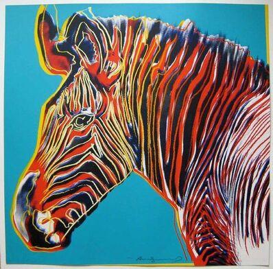 Andy Warhol, 'Grevy's Zebra', 1983