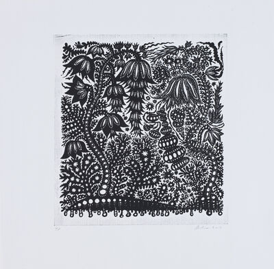Andrea Dezsö, 'Spaceship Flowers', 2016