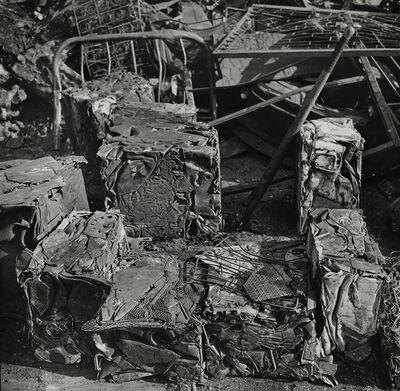 Morris Engel, 'Scrap metal, Harlem, New York', 1941