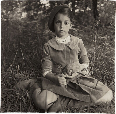 Diane Arbus, 'Child in a beret, N.Y.C.', 1962