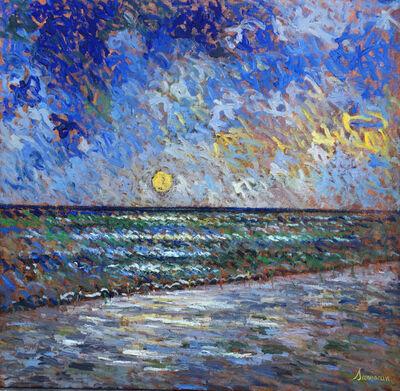 Samir Sammoun, 'Sunrise on the Beach', 2016