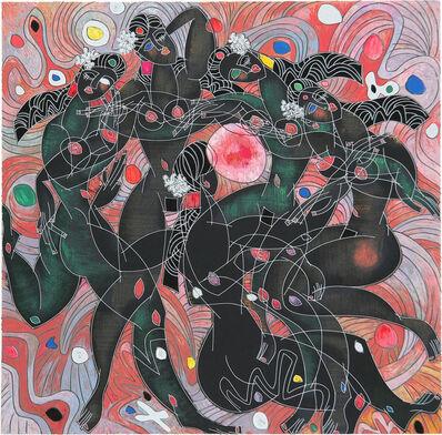 Jiang Tiefeng, 'Playing Water', 1988