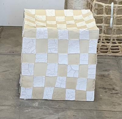 Brittany Mojo, 'Checkered Cube', 2020