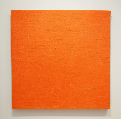 John Nixon, 'Orange Monochrome - Briar Hill', 2002