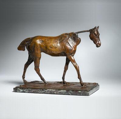 Edgar Degas, 'Thoroughbred Horse Walking', 1865-1881