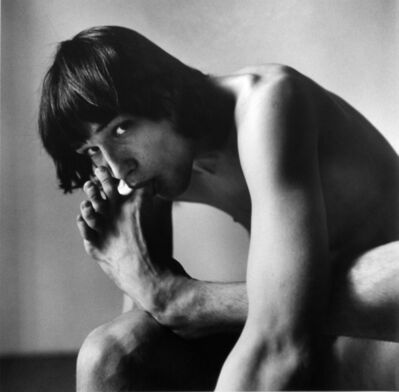 Peter Hujar, 'Daniel Schook Sucking Toe (Close-up)', 1981