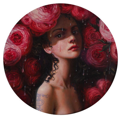 Jana Brike, 'Persephone and the weeping roses', 2020